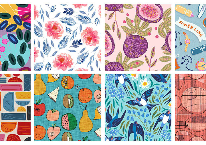8 Artists to Keep an Eye on this Month   Spoonflower Blog