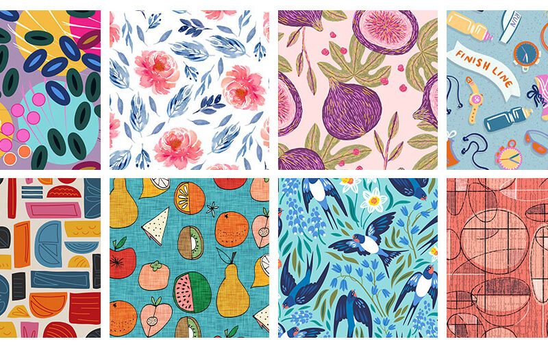 8 Artists to Keep an Eye on this Month | Spoonflower Blog