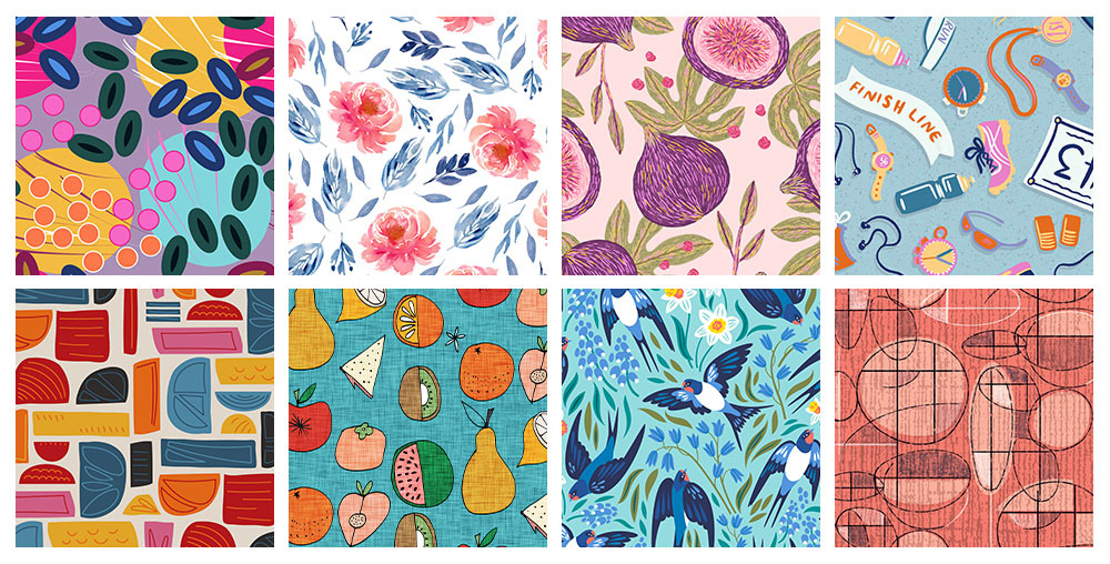 Spoonflower Spotlight: 8 Artists to Keep an Eye on This Month