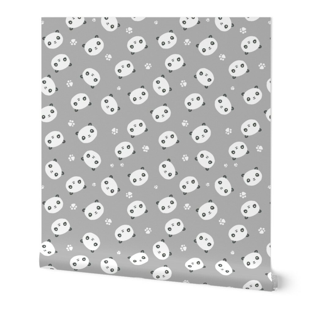 The Honest Company® Pandas Print Wallpaper | Spoonflower Blog
