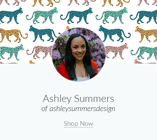 July Artist Spotlight: Ashley Summers of ashleysummersdesign | Spoonflower Blog