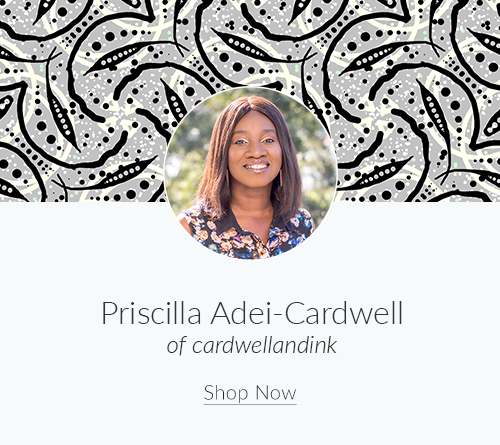 July Artist Spotlight: Meet Priscilla Adei-Cardwell of cardwellandin | Spoonflower Blog