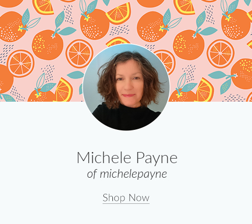 July Artist Spotlight: Michele Payne of michelepayne | Spoonflower Blog