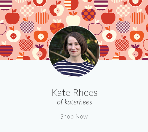 July Artist Spotlight: Meet Kate Rhees of katerhees | Spoonflower Blog