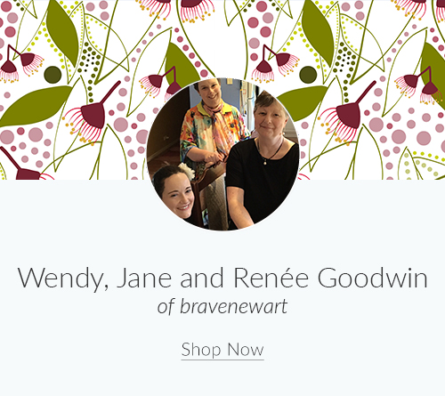 July Artist Spotlight: Wendy, Jane and Renée Goodwin of bravenewart | Spoonflower Blog