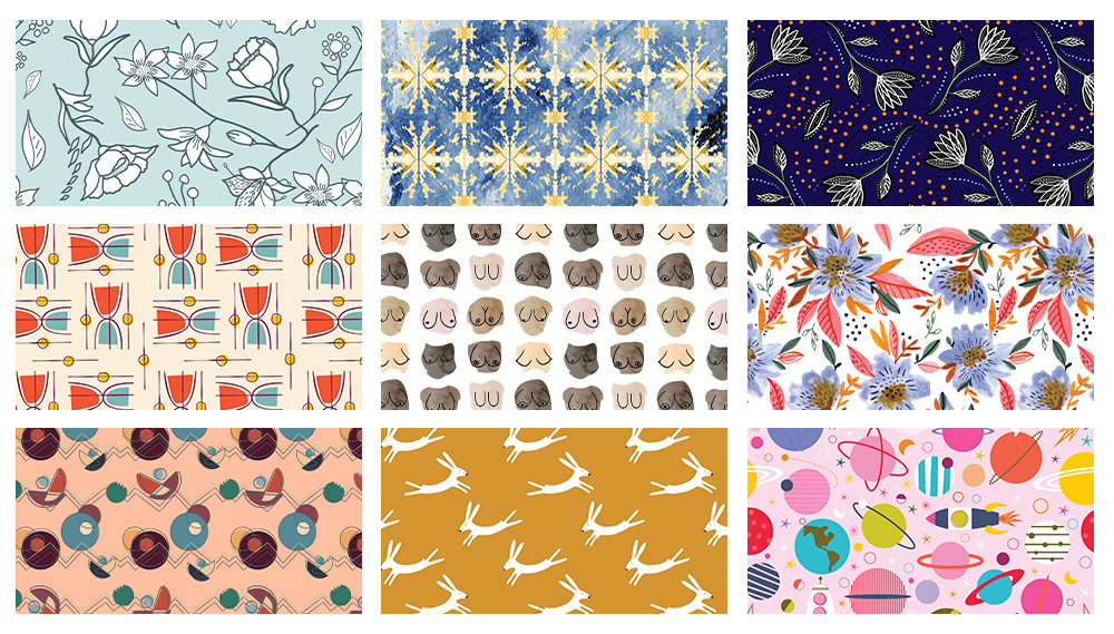 Spoonflower Spotlight: 9 Artists to Keep an Eye on This Month | Spoonflower Blog