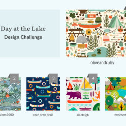 Day at the Lake Design Challenge | Spoonflower Blog