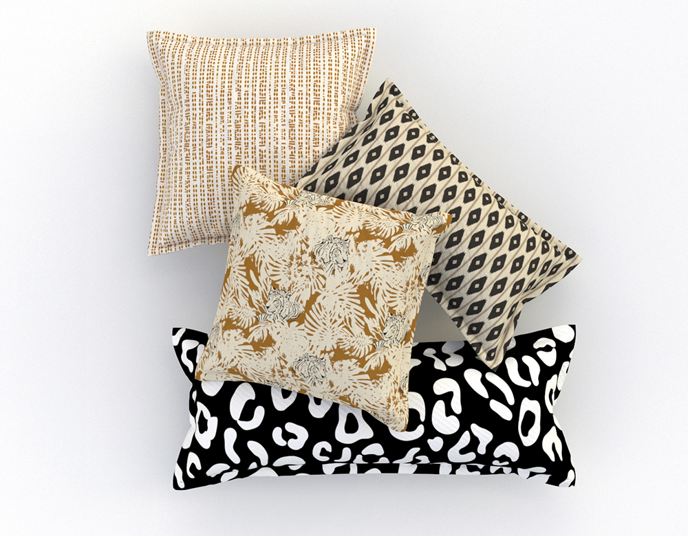 Refresh Your Space with These 5 Tips for Styling Throw Pillows | Spoonflower Blog