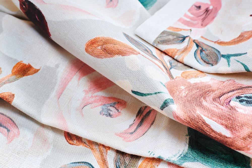 Belgian Linen close-up | Spoonflower Blog