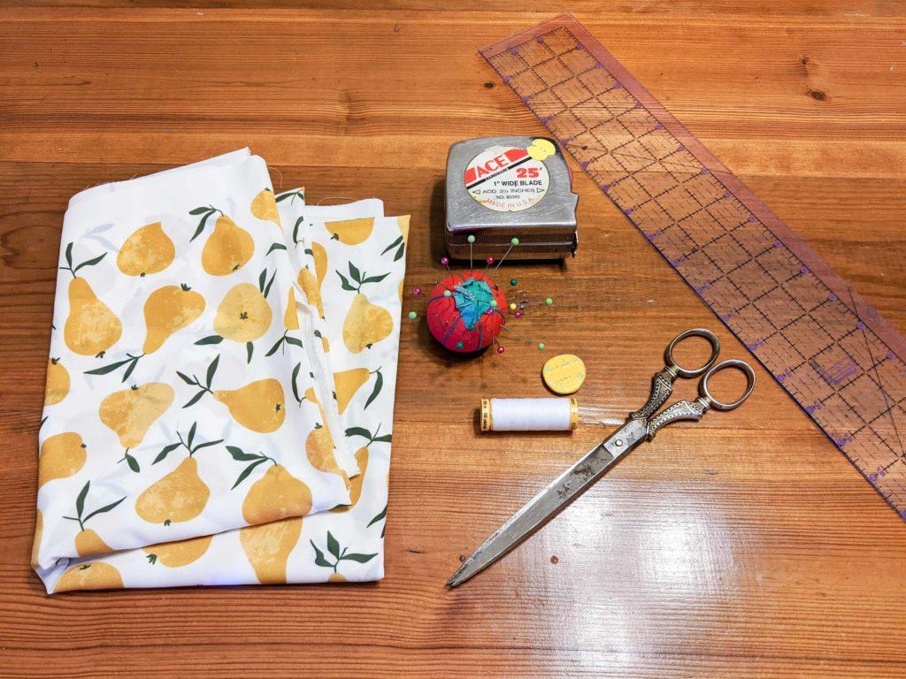 DIY window valence supplies | Spoonflower Blog