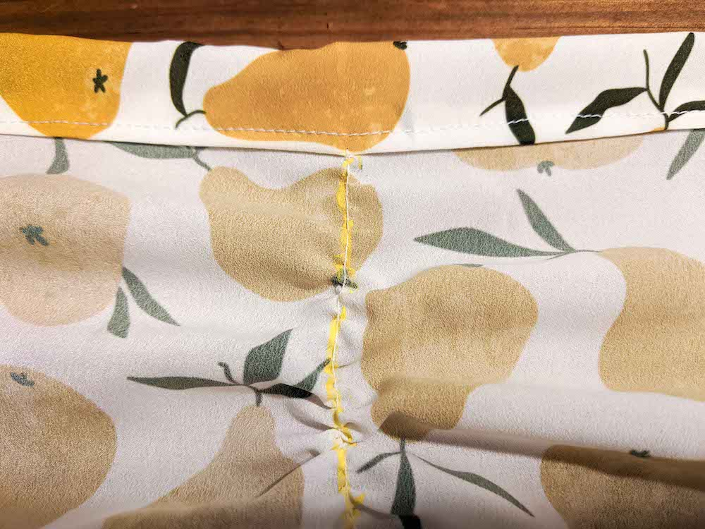 Sew a basting stitch | Spoonflower Blog