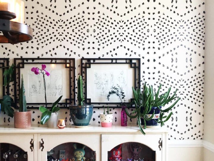 10 Ways to Transform a Space With Peel and Stick Removable Woven Wallpaper | Spoonflower Blog