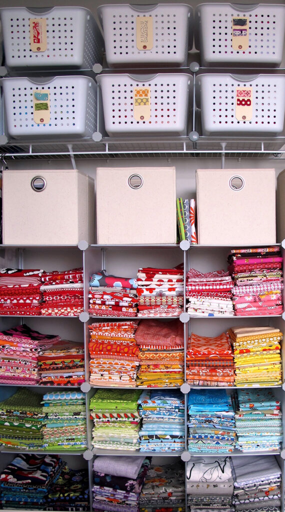 Organize Your Fabric Stash with Lilo Bowman of The Quilt Show | Spoonflower Blog