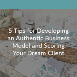 Small Business Handbook: 5 Tips for Developing an Authentic Business Model and Scoring Your Dream Client | Spoonflower Blog