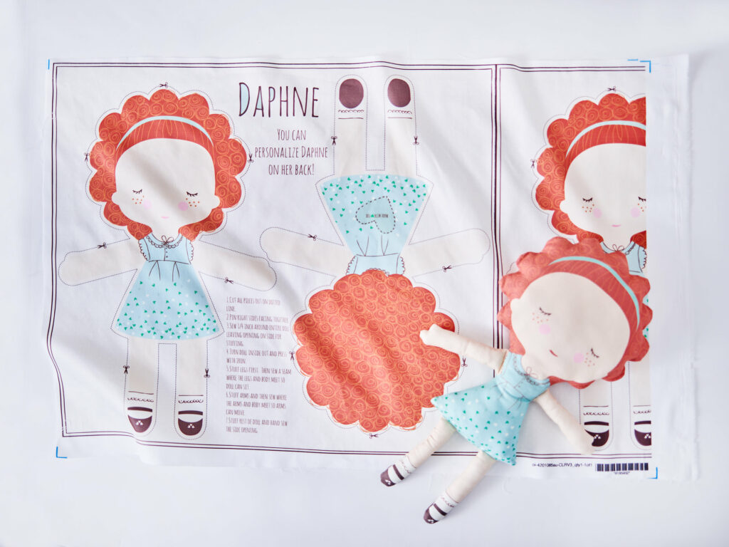 Cut-and-Sew doll example | Spoonflower Blog