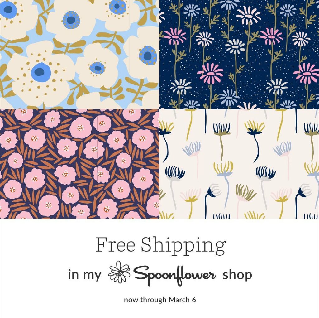 Free Shipping promotion on Instagram