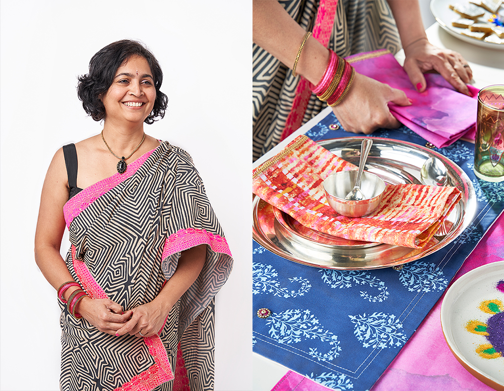 Celebrate Diwali with a DIY Saree | Spoonflower Blog