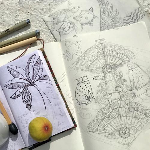 Spoonflower Artist Spotlight: An Interview with Elmira Arts - First-Place Winner | Spoonflower Blog