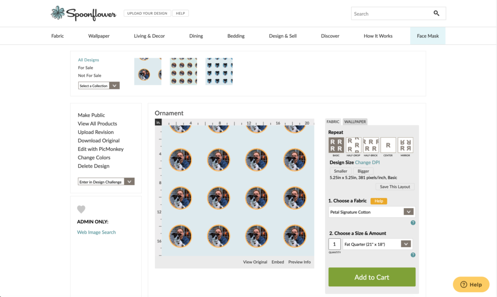 Upload ornament design to Spoonflower | Spoonflower Blog