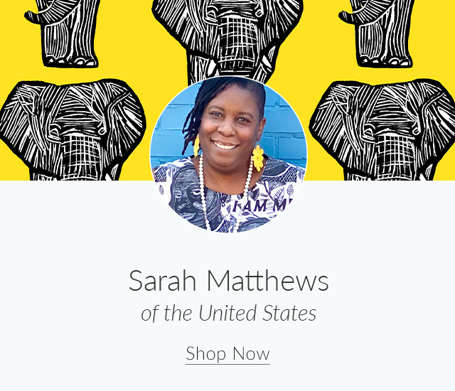 Spoonflower Spotlight: 7 Artists to Keep an Eye on This Month | Meet Sarah Matthews of the United States | Spoonflower Blog