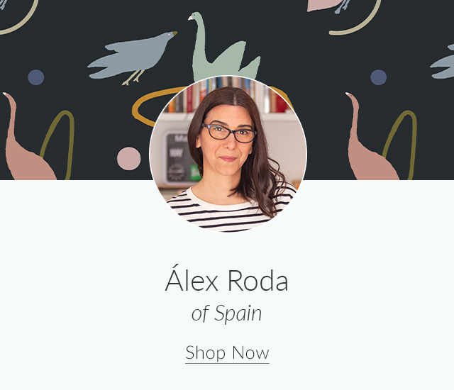 Spoonflower Spotlight: 7 Artists to Keep an Eye on This Month | Meet Álex Roda of Spain | Spoonflower Blog