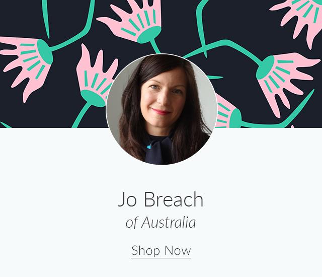 Spoonflower Spotlight: 7 Artists to Keep an Eye on This Month | Meet Jo Breach of Australia | Spoonflower Blog