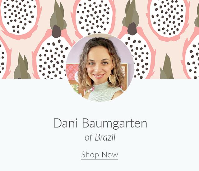 Spoonflower Spotlight: 7 Artists to Keep an Eye on This Month | Meet Dani Baumgarten of Brazil | Spoonflower Blog