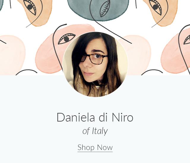 Spoonflower Spotlight: 7 Artists to Keep an Eye on This Month | Meet Daniela di Niro of Italy | Spoonflower Blog