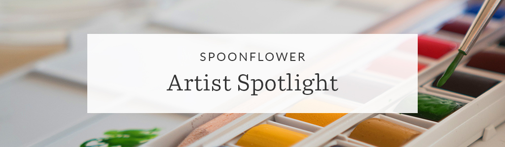 Spoonflower Spotlight: 7 Artists to Keep an Eye on This Month | Spoonflower Blog