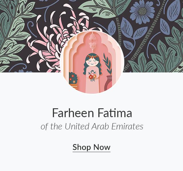 Shop Farheen Fatima of the United Arab Emirates