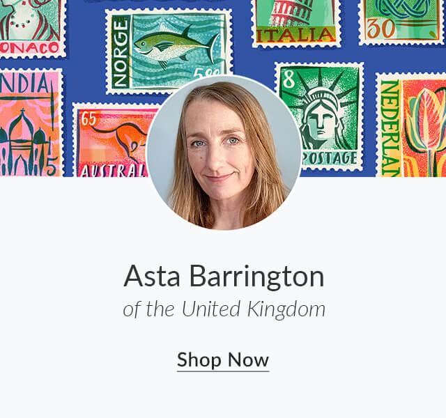Shop Asta Barrington of the United Kingdom