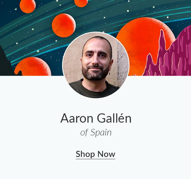 Shop Aaron Gallén of Spain