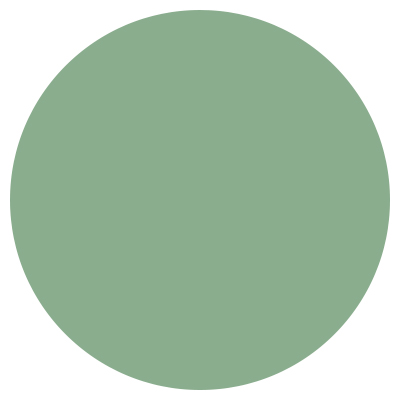 A dot of the color Jade