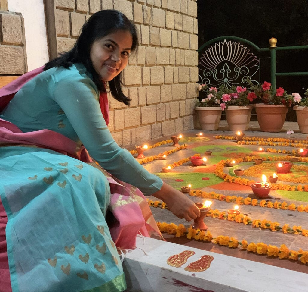 Geetanjali celebrates Diwali