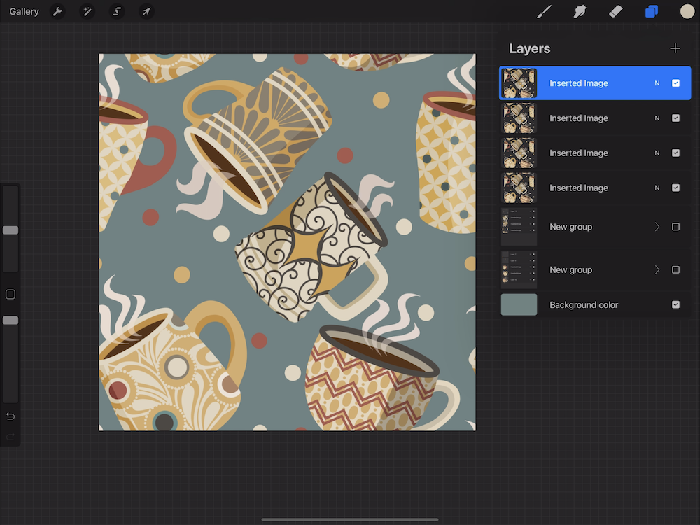 Creating a Pattern in Procreate - Complete Your Pattern Design