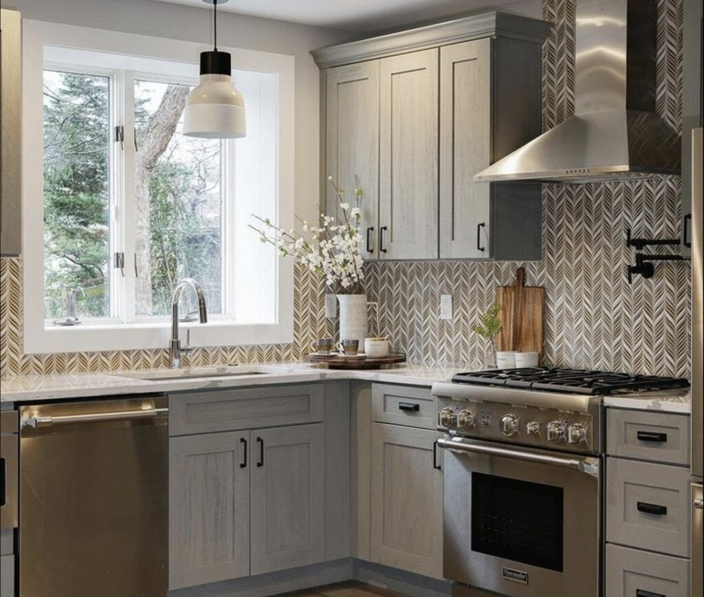 A kitchen space designed by Lauren White
