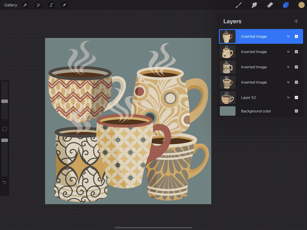 Creating a Pattern in Procreate - Create Your Procreate Canvas