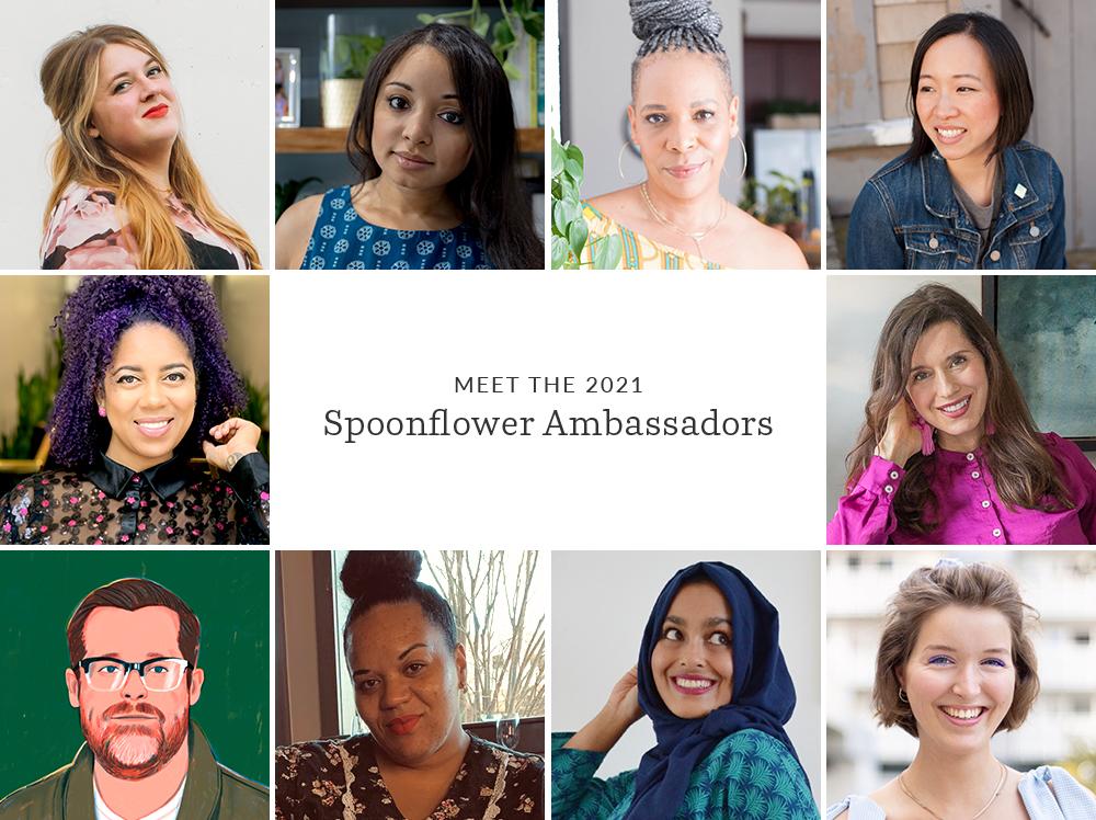 10 Ambassador Headshots in a grid