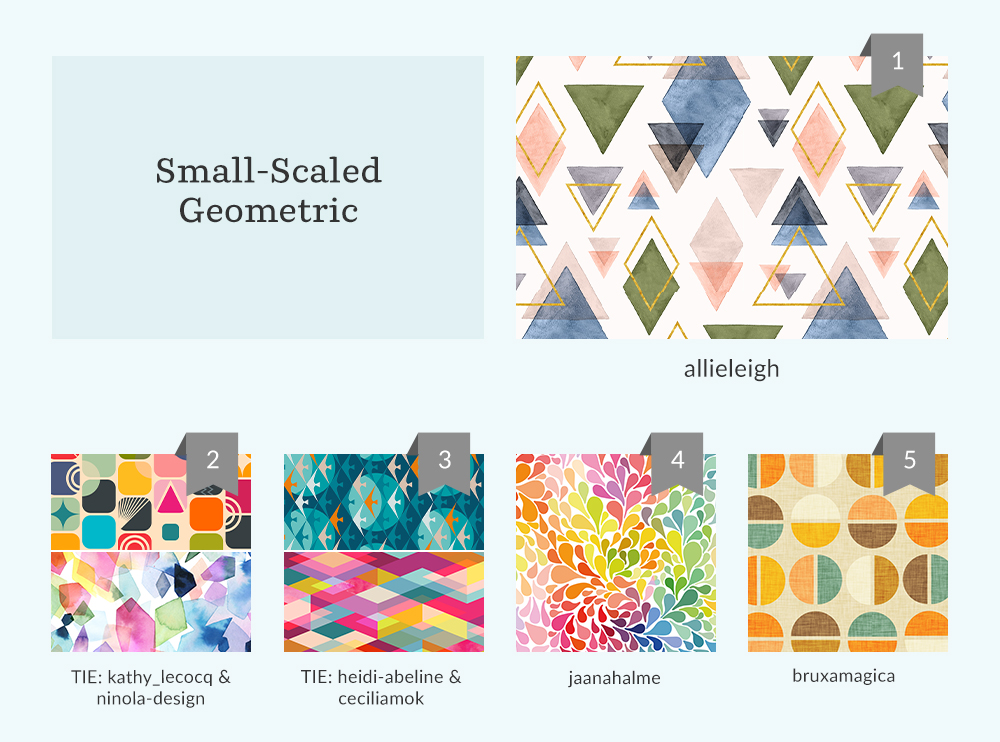 Small-Scaled Geometric Design Challenge top 5