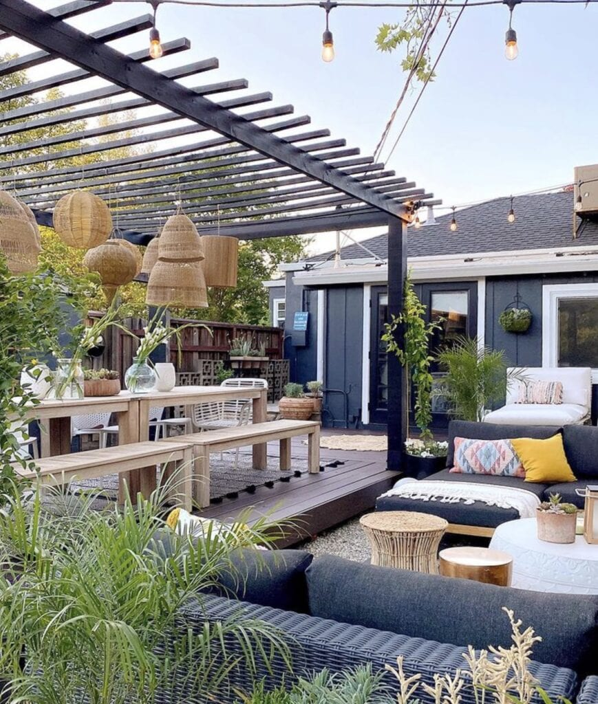 An outdoor space designed by Shavonda