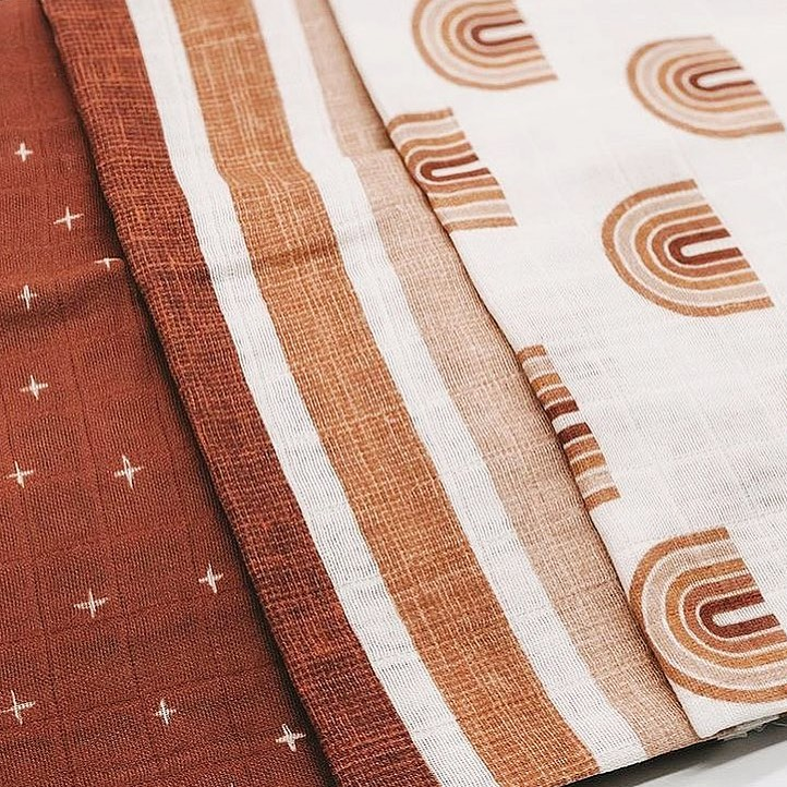 Textured printed fabrics