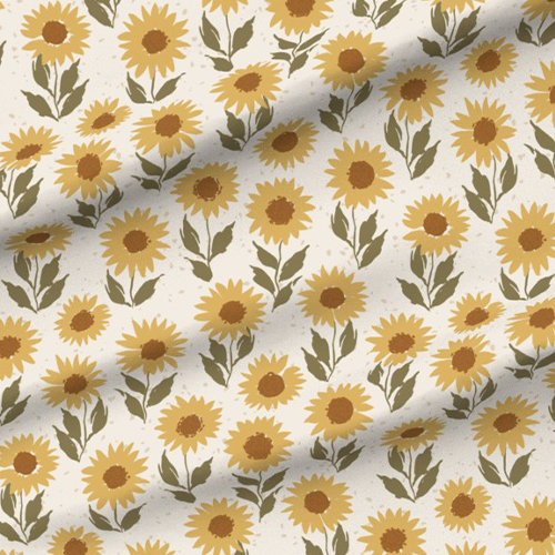 A sunflower design