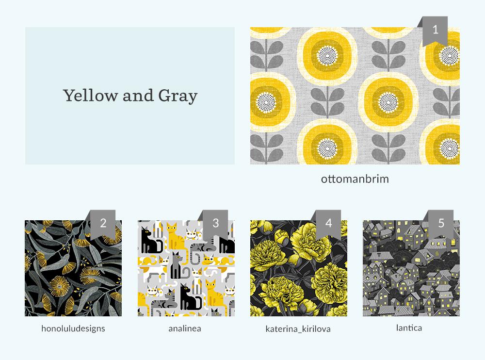 Yellow and Gray Design Challenge