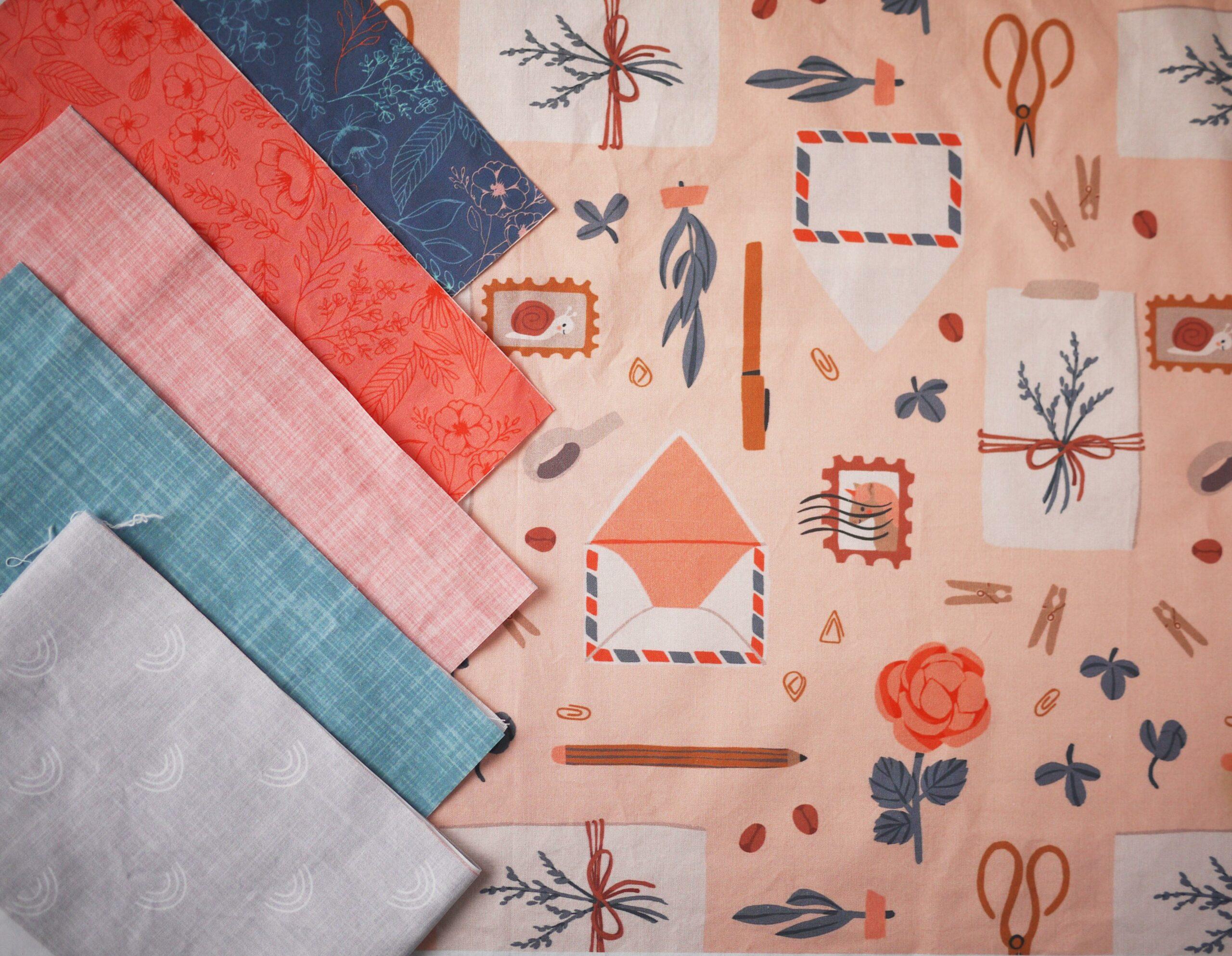 So stellst du Designs für dein Quilt zusammen
