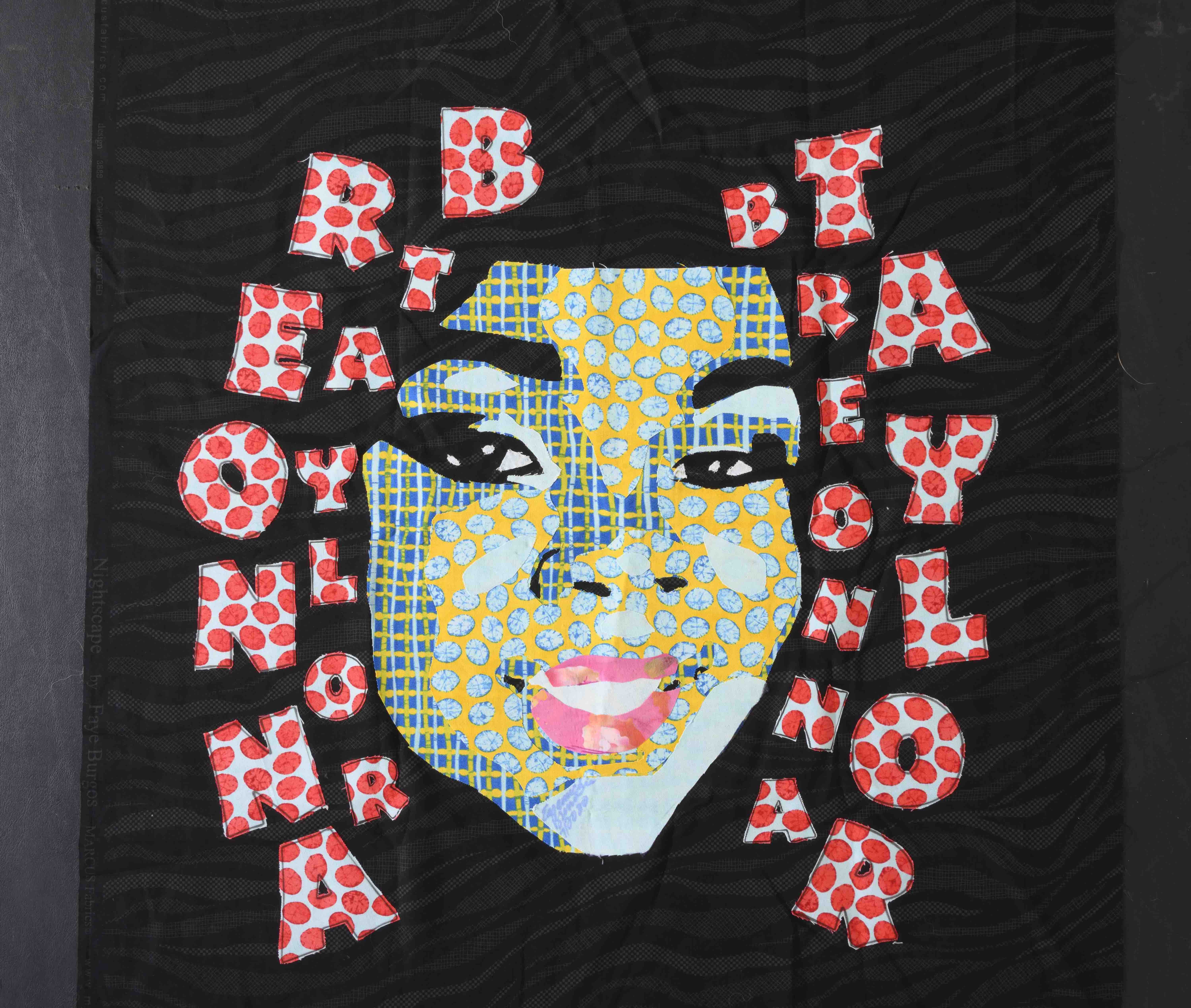 Quilt design of Breonna Taylor