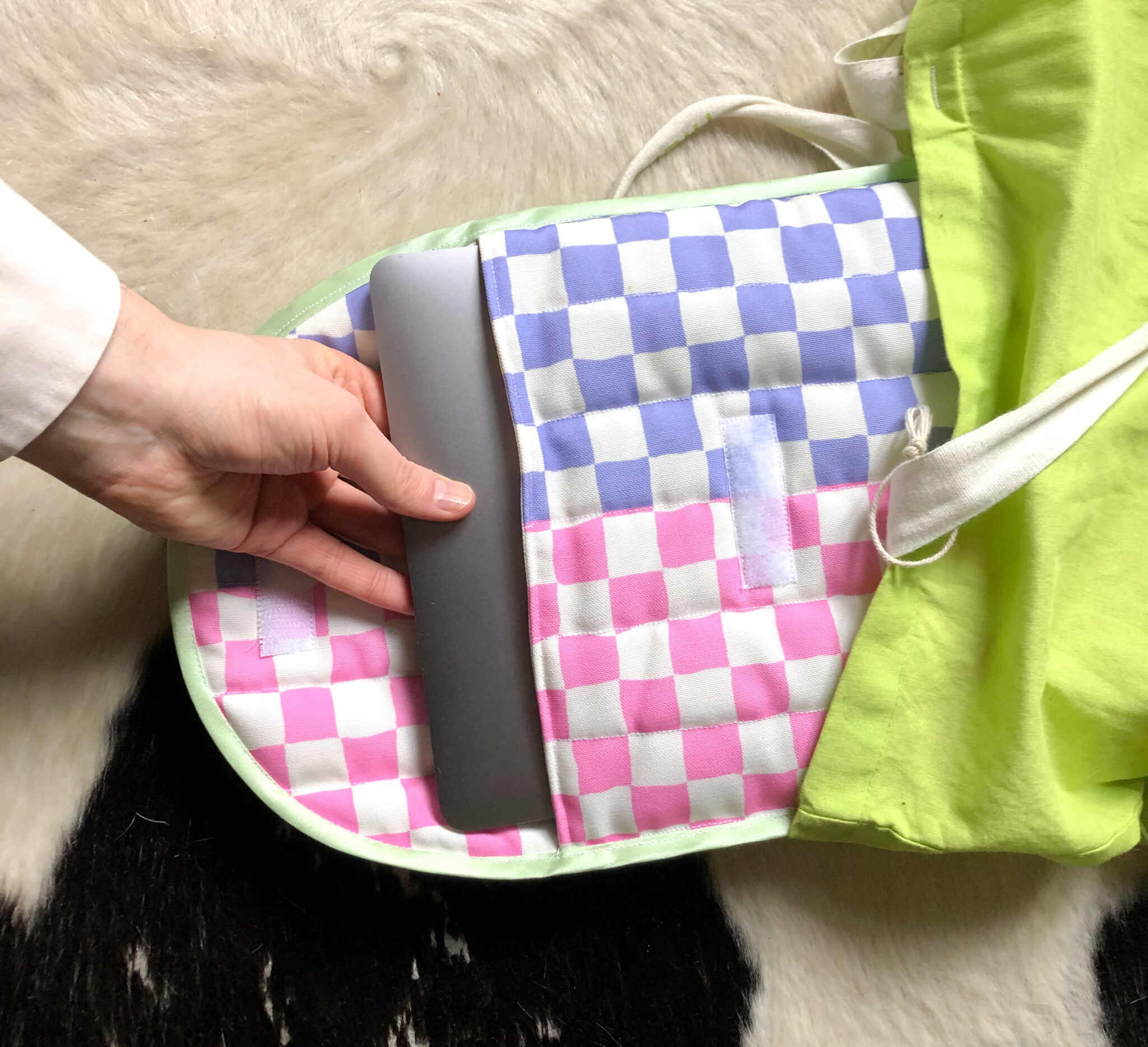 How to Make a Quilted Laptop Bag