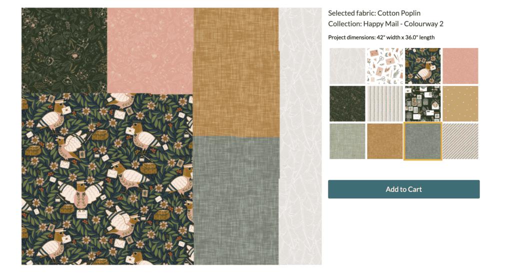 Erstelle ein Quilt mit unserer Spoonflower Fill-A-Yard Option