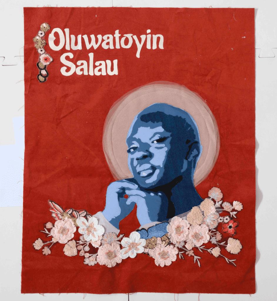 Quilt remembering Oluwatayin Salau