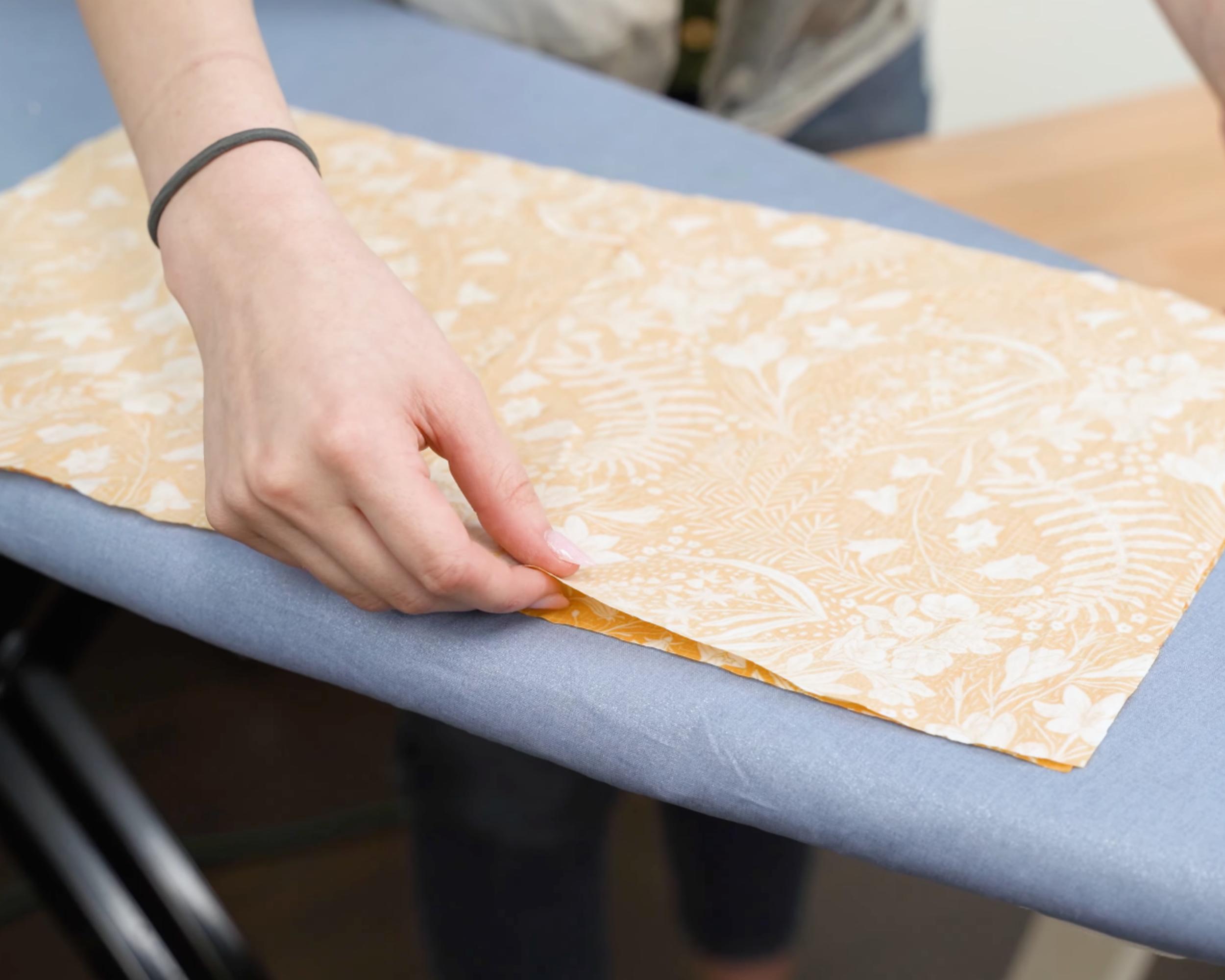 Placing skirt panels together