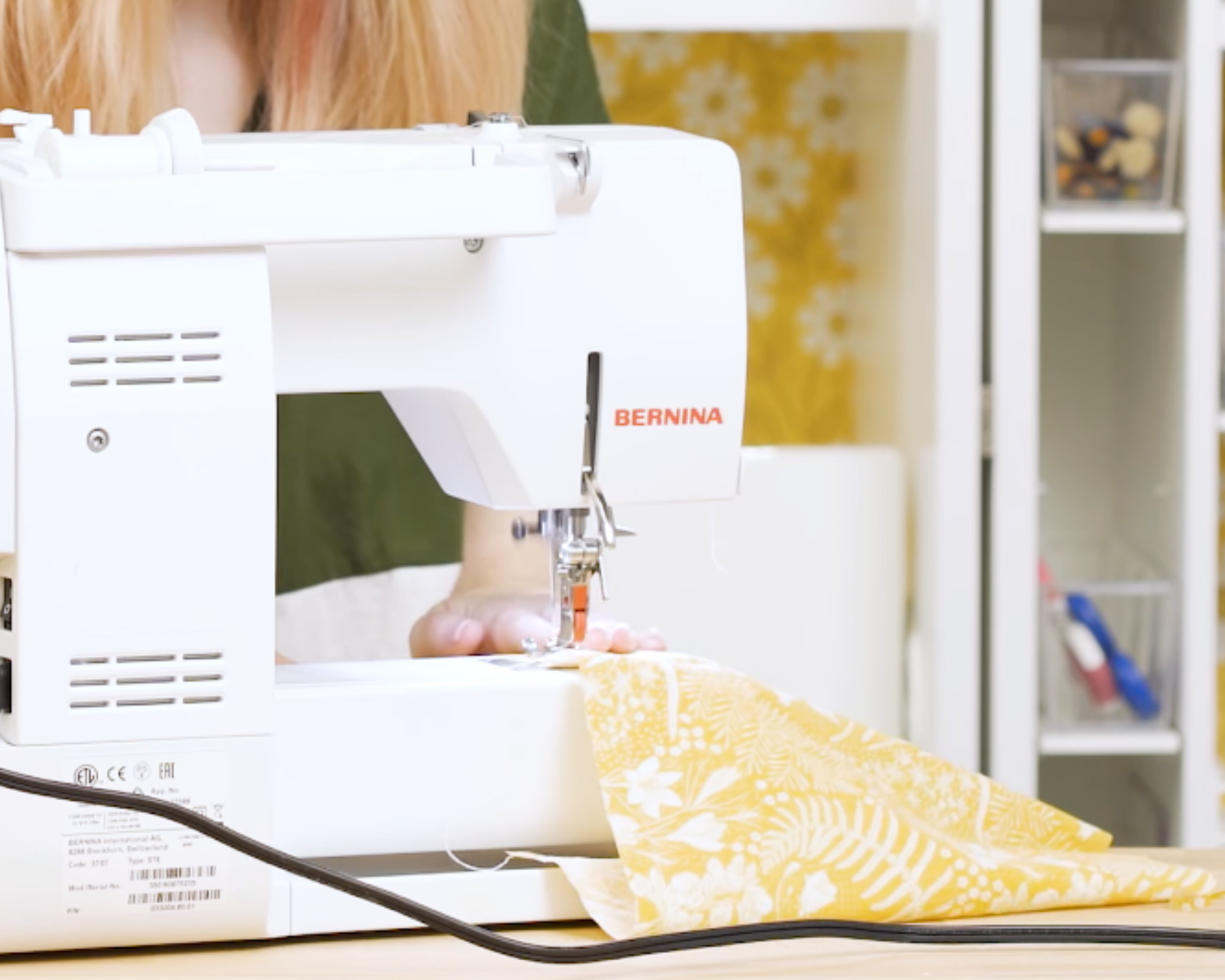 Sewing skirt panels together